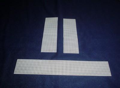 La parte de abajo es de 66 cuadrados de largo.
