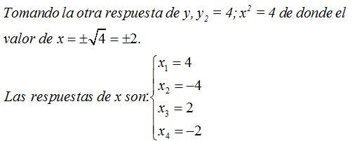 Curso gratis de ecuaciones de segundo grado ecuaciones for Ecuaciones de cuarto grado