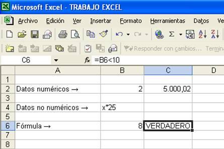 Edición - Hoja de calculo