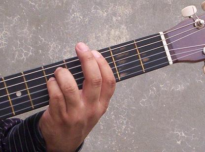 Acorde de Gm (Sol menor).   clases de guitarra gratis, clases de guitarra electrica, clases de guitarra flamenca