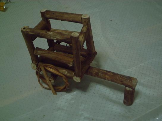 Carretas de madera imagui for Carreta de madera para jardin