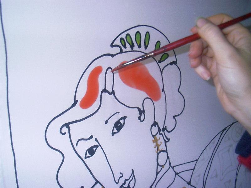 colorear dibujo