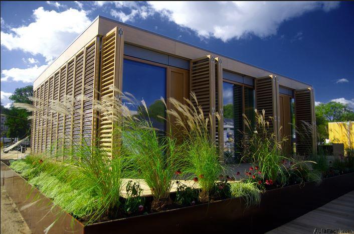Casas eficientes. Aulafacil.com