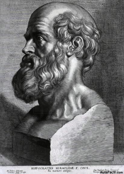 Hipocrates el padre de la medicina.