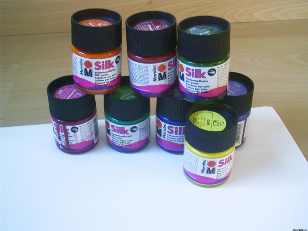 Curso gratis de pintura sobre seda botes de pintura - Tinte para pintura ...
