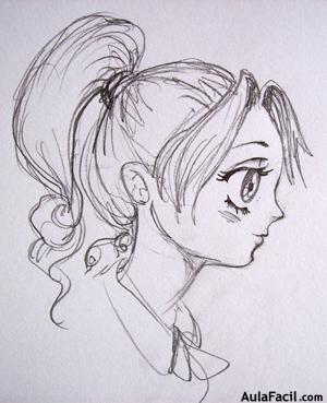 Curso gratis de Dibujo Manga Rostros II  Cabeza estilo Shojo