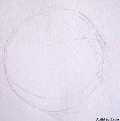 dibujar circulo para rostro
