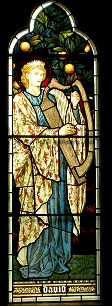 David all saints burne-jones
