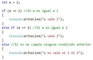 Else Else If Programación En C