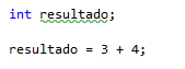 Operando sin variables