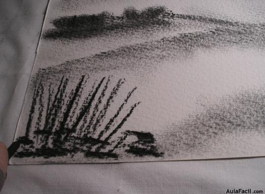 Pintando El Matorral Alto