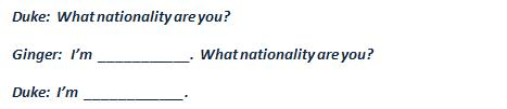 What nationality are you?
