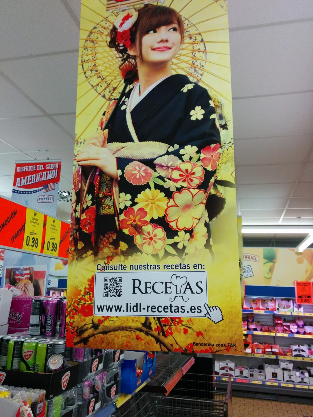 marketing supermercados recetas