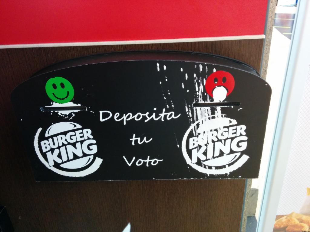 Encuesta en Burger King. Marketing