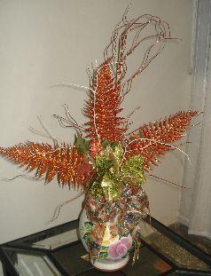 Elaboraci n de arreglo navide o hacer y colocar mo o for Elaboracion de adornos navidenos