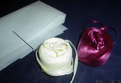 Curso gratis de bolsos de rafia materiales aulafacil - Manualidades con rafia ...