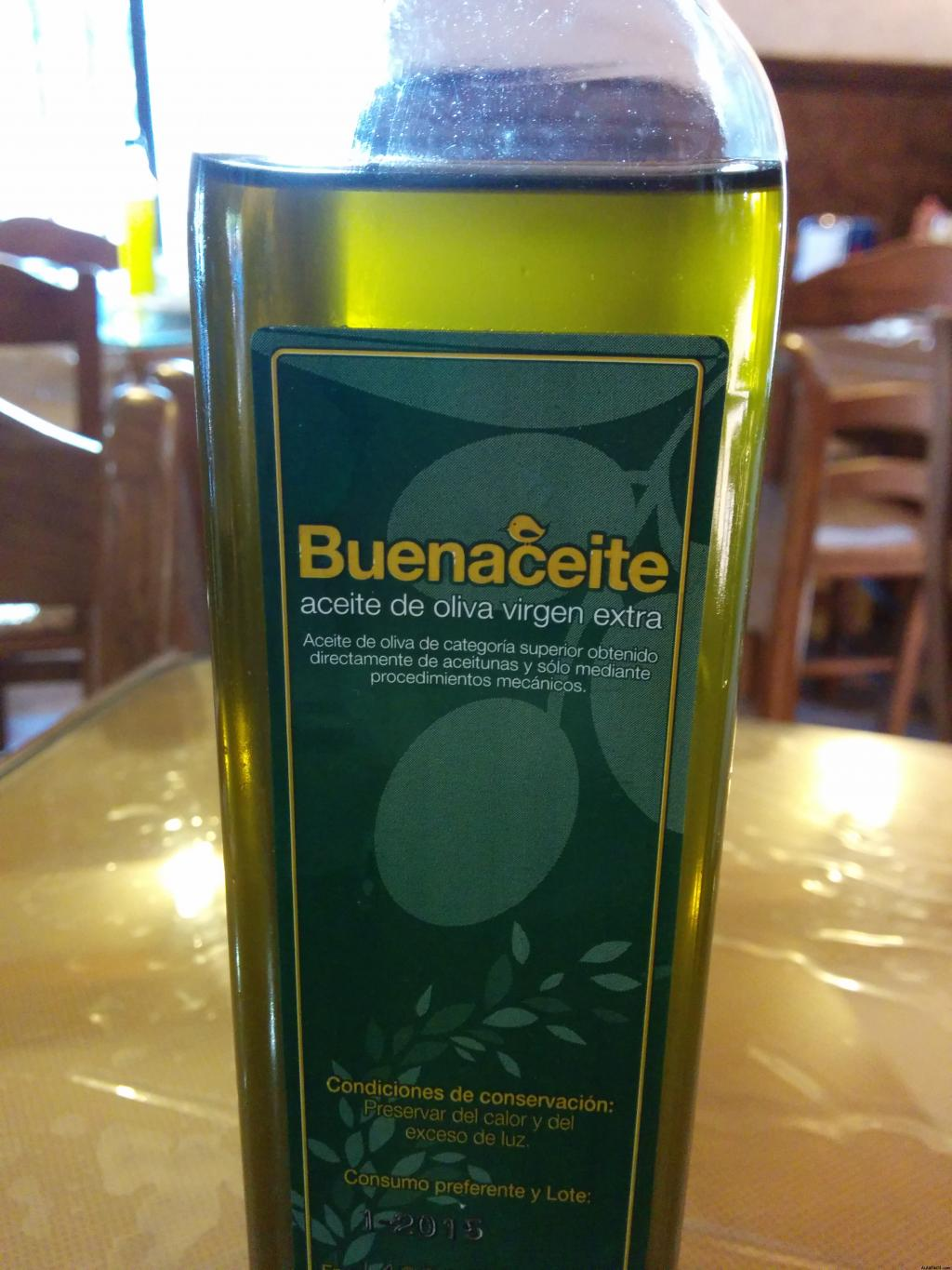 Marketing marca de aceite