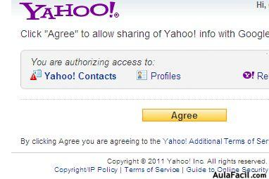 agree en yahoo+