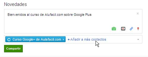publicaciones google plus