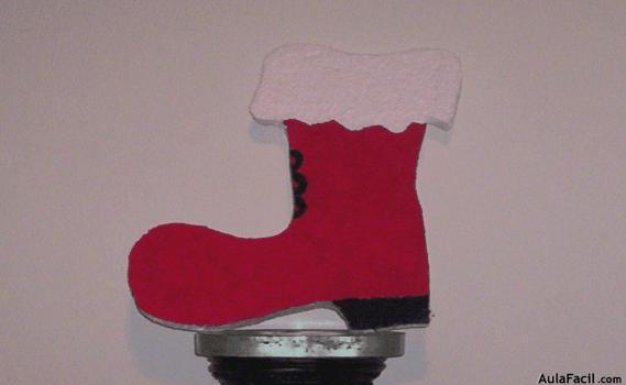 Bota De Santa Claus Figuras En Durapax