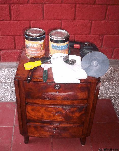 Curso gratis de Restauración de Muebles de Madera - Restaurar Mesa de Noche ...