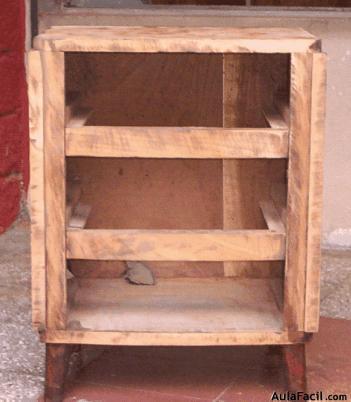 Curso gratis de restauraci n de muebles de madera finalizar lijado los - Clases de restauracion de muebles ...