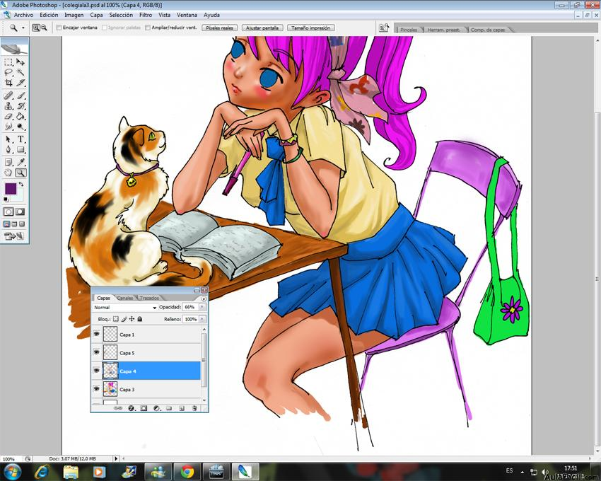 Colorear con Photoshop