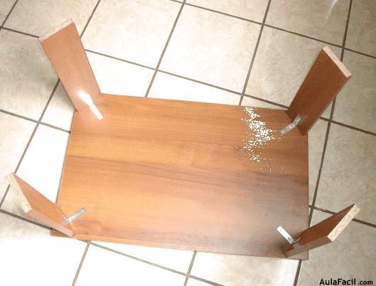 Finalizar La Mesa Elaboraci N De Muebles Con Melamina