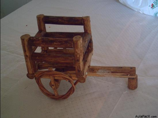 Curso gratis de carretas de madera otra carreta de for Carretas de madera para jardin