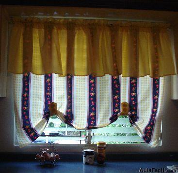 Curso gratis de elaboraci n de cortinas cortina lisa en for Cortinas con volantes