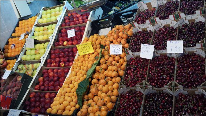 Frutas de temporada.Aulafacil.com