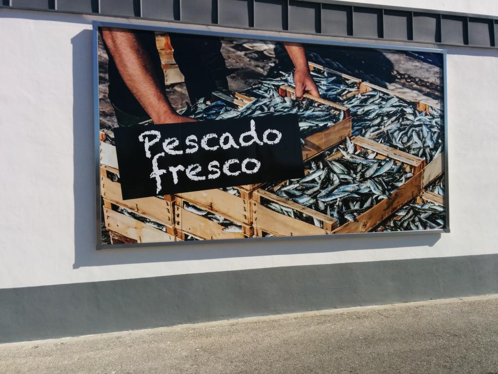 Marketing pescado fresco. Utilización de las fachadas