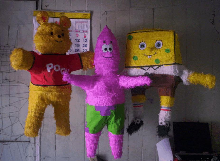 Curso gratis de pi atas introducci n for Decoracion de pinatas infantiles