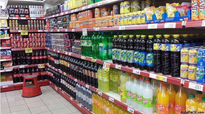 Bebidas azucaradas dañinas para la salud. Aulafacil.com