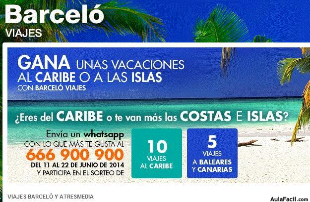 Marketing concurso whatsapp