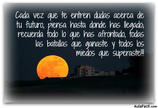 acerca de tu futuro