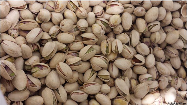 Beneficios de los pistachos.  Salud. Aulafacil.com