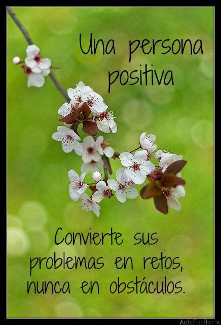 persona positiva