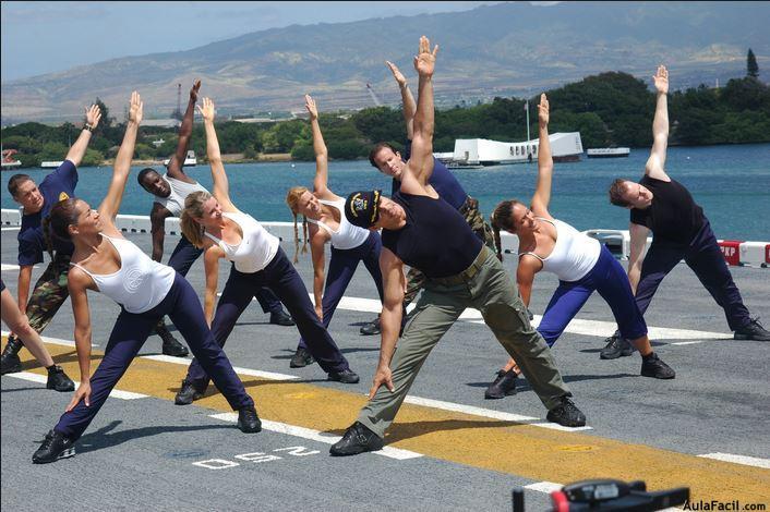 El ejercicio es saludable para el intestino. Aulafacil.com