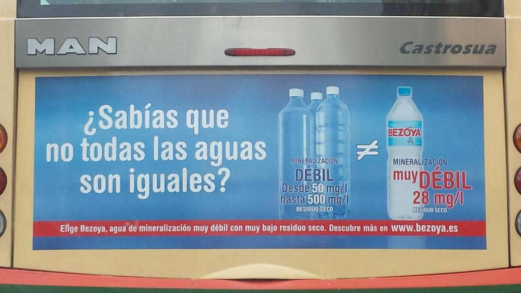 Marketing de aguas