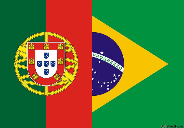 bandera portugal-brasil