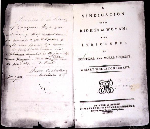 vindicacion derechos mujer
