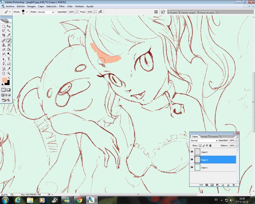 Curso gratis de dibujar chica gato manga colocar colores for Dibujar planos online
