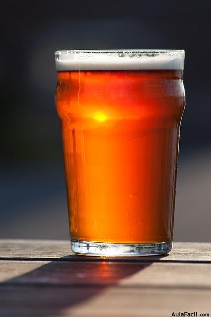 pinta cerveza
