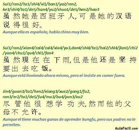 ⏩La frase subordinada I - Chino gramática básica II | AulaFacil.com ...