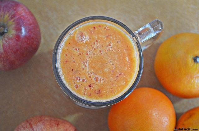 batido detox naranja