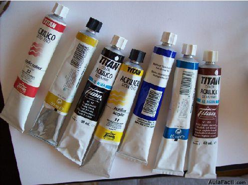 Cómo colorear. Acrílicos 1
