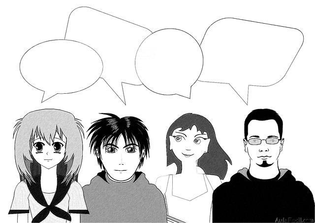 hablar viñetas