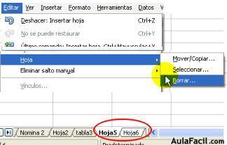 ⏩Insertar o eliminar hojas en OpenOffice - Open Office - Calc ...