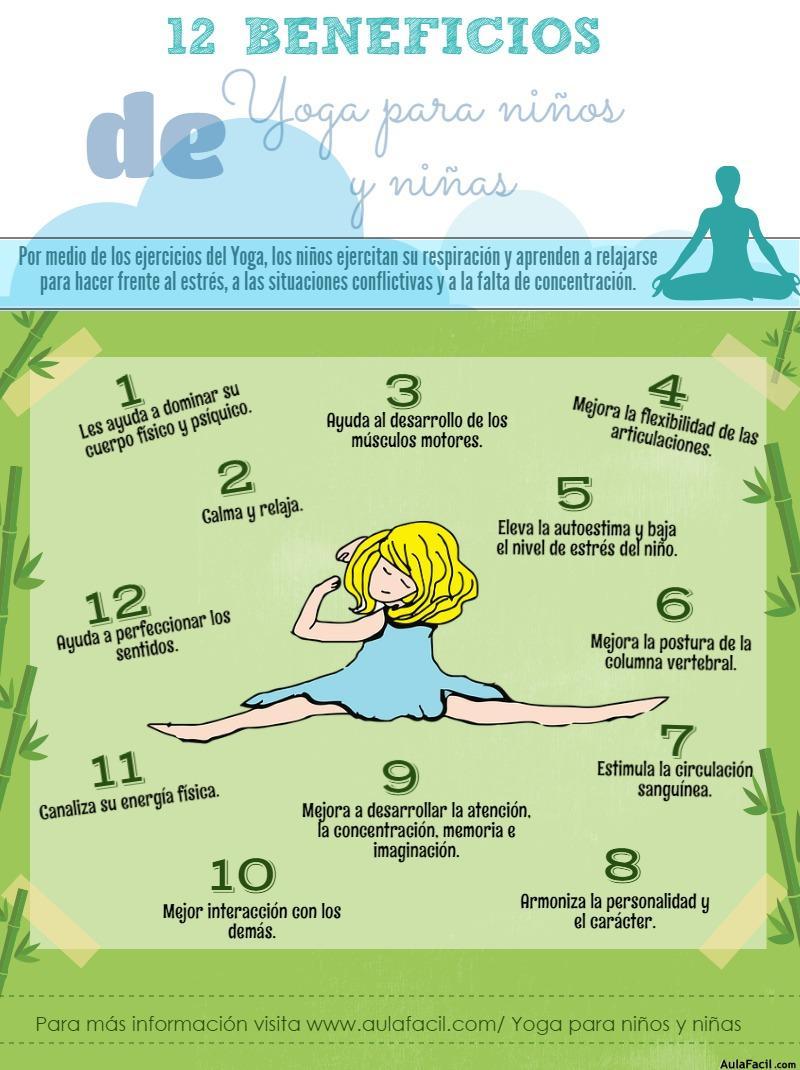 12 beneficios del yoga para niños y niñas - Yoga para